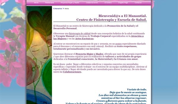 Web – Centro Fisioterapia El Manantial